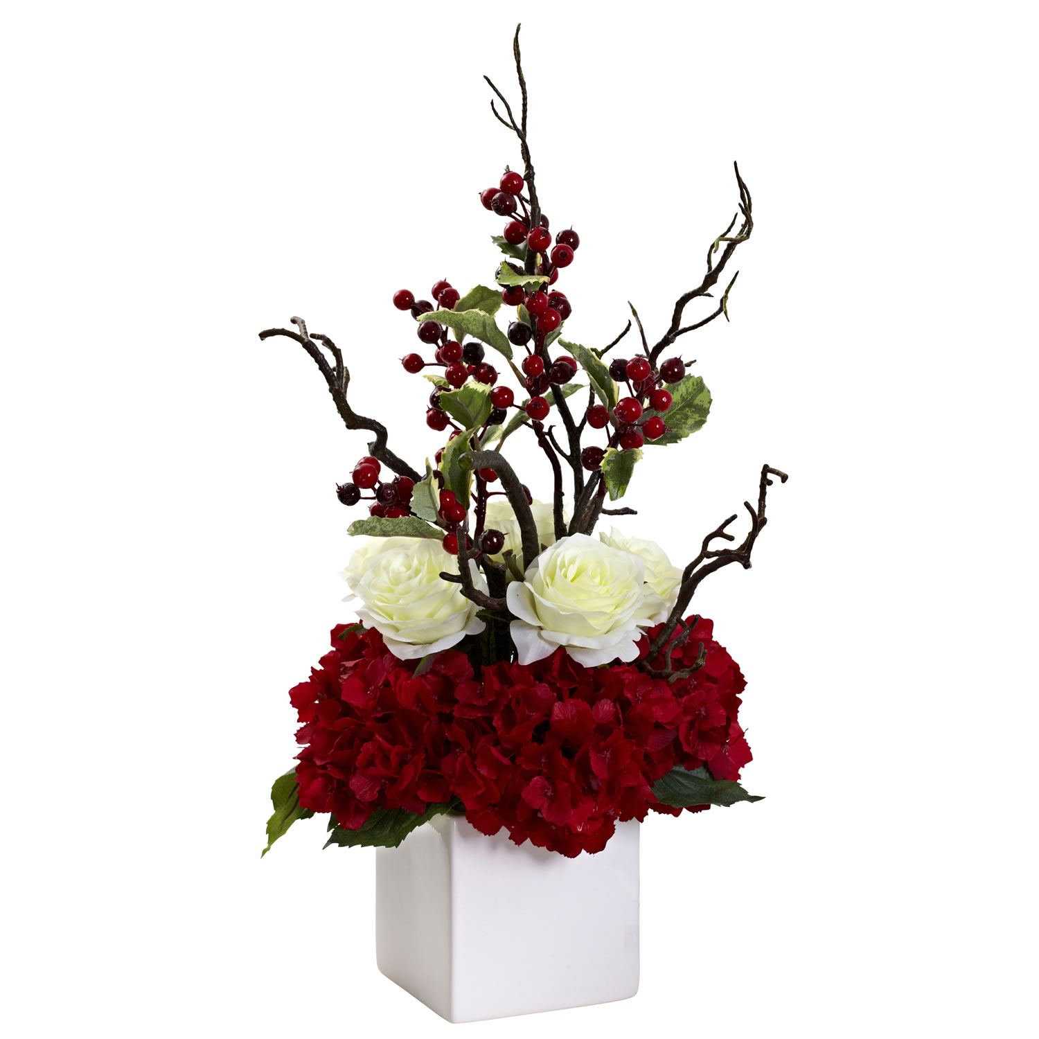 Christmas Wedding Centerpiece